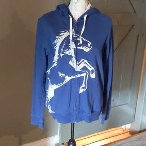 Hatley horse hoodie